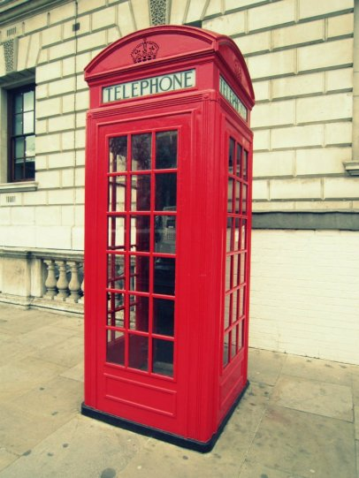 London, England - Telephone Booth